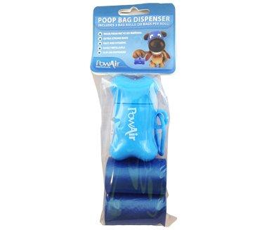 Powair poop bag dispenser sacchetto monouso raccogli feci sacchetto usa e getta per animali sacchetti cacca cane sacchetti raccogli feci