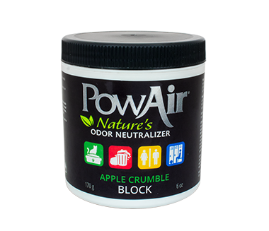 powair block neutralizzatore di odore a base di oli essenziali in cera solida profuma ambienti in cera profumo auto elimina odori animali fragranza mela verde