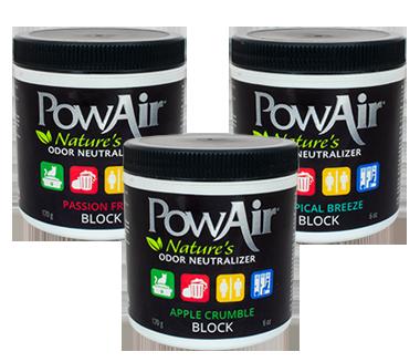 powair block neutralizzatore di odore a base di oli essenziali in cera solida profuma ambienti in cera profumo auto elimina odori animali