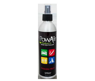 powair spray deodorante per ambienti universale elimina i cattivi odori da casa profumo auto profumo con olio essenziale profumazione passion fruit