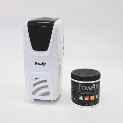 powair block neutralizzatore di odore a base di oli essenziali in cera solida profuma ambienti in cera profumo auto elimina odori animali dispenser 1
